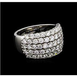2.30 ctw Diamond Ring - 14KT White Gold
