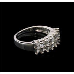 0.91 ctw Diamond Ring - 14KT White Gold