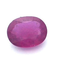 15.93 ctw Oval Ruby Parcel