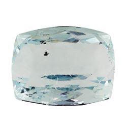 8.91 ct.Natural Rectangle Cushion Cut Aquamarine