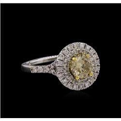 14KT White Gold 1.61 ctw Diamond Ring