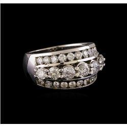 14KT White Gold 1.95 ctw Diamond Ring
