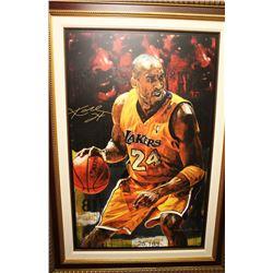 Kobe Bryant Autographed Giclee