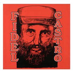 Fidel Castro by Steve Kaufman (1960-2010)