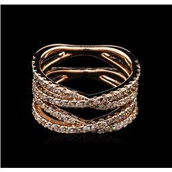 1.20 ctw Diamond Ring - 14KT Rose Gold