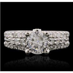 14KT White Gold 1.87 ctw Diamond Ring
