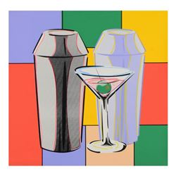 Martini by Steve Kaufman (1960-2010)