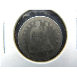 1851-O Seated 10c.  Scarce Date.