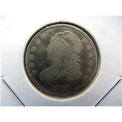 1829 Bust 10c.  Nice Details.