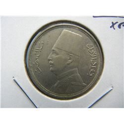 1933-H Egypt 10 Millimes.  XF.