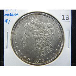 1879 Morgan $1.  AU+.