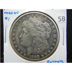 1898-S Morgan $1.  VF/XF.  Better Date.