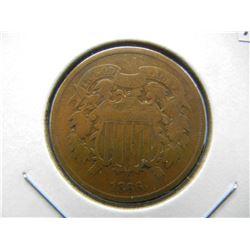 1866 2c.  Fine.