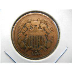 1864 2c.  Nice Details.