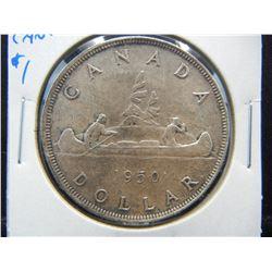 1950 Canada $1.  AU.
