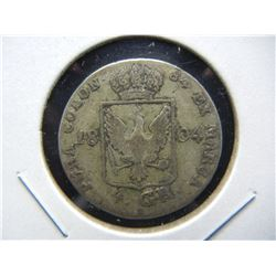 1804 Germany 4 Groschen.  Silver.  Rare.
