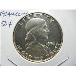 1957 Franklin 50c.  Proof.
