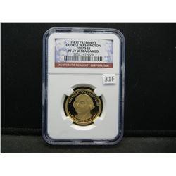 2007-S First President George Washington $1.  NGC PF 69 ULTRA CAMEO.
