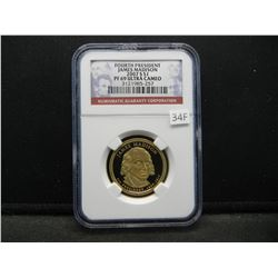 2007-S Fourth President James Madison $1.  NGC PF 69 ULTRA CAMEO.