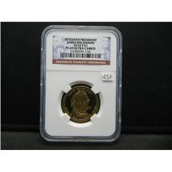 2010-S Fifteenth President James Buchanan $1.  NGC PF 69 ULTRA CAMEO.