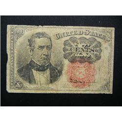 5th Issue 10c Fractional Currency.