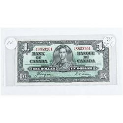1937 - $1 Bill - Coyne & Towers - Serial Number : HN 8853201 (EF-40)