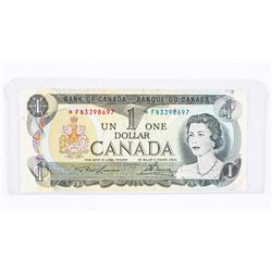 BANK OF CANADA 1973 * Replacement FN. L/B