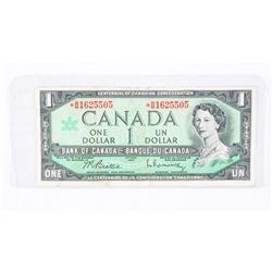 BANK OF CANADA 1967 * Replacement BM 1.00 Note
