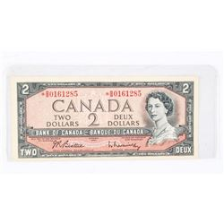 Bank of Canada 1954 2.00 * Replacement B/R (BB)