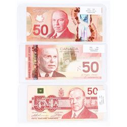Group (3) Bank of Canada 50.00 2004, 1988, 2012