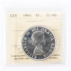 "1964 - $1. ""PL-66[ICCS Certified : XCC-424]"""