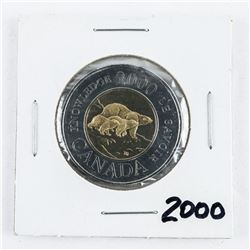 2000 CAN 2.00 Coin BU MS65. 3 Bears