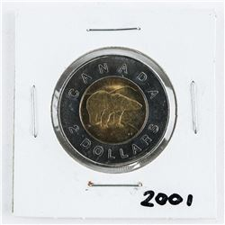 2001 CAN 2.00 Coin BU MS65.