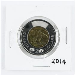 2014 CAN 2.00 Coin BU MS65.