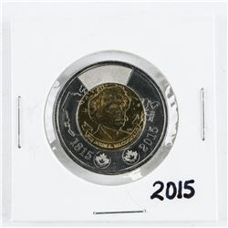 2015 CAN 2.00 Coin BU MS65.