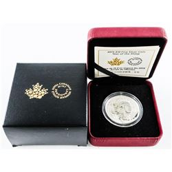 2015 $10.00 .9999 Fine Silver Coin 'Year of the Sheep' (KR)