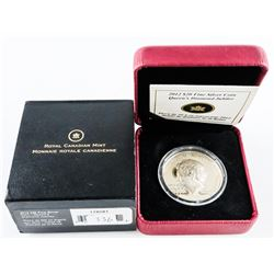 2012 $20.00 .9999 Fine Silver Coin 'Queen's Diamond Jubilee' (SOR)