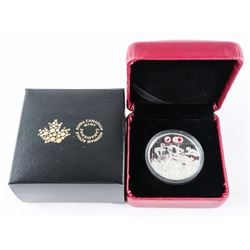 2016 $1 CELEBRATING CANADIAN ATHLETES - LIMITED EDITION PROOF PURE SILVER DOLLAR (GR)