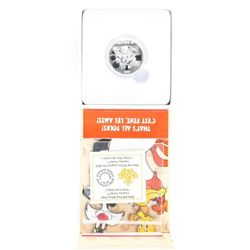 .9999 Fine Silver $10.00 Coin 'Looney Tunes'
