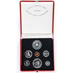 925 Sterling Silver 1967 Medal and Coin Set Note Condition