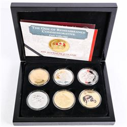 Lot (6) Medals - Collector Case with Bradford