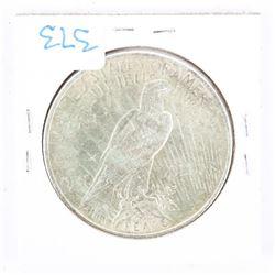 USA Silver Peace Dollar 1924 MS62. (CE)