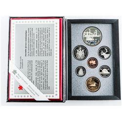 RCM 1991 Proof Set 7 Coins