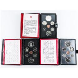 Group (3) RCM Prestige Coin Sets: 1976, 1977, 1978