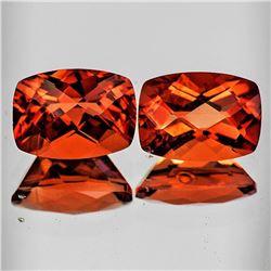 Natural Intense Reddish Orange Andesine [Flawless-VVS]