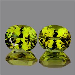 Natural AAA Canary Yellow Mali Garnet Pair 6x5 MM - FL