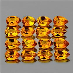 Natural GOLDEN YELLOW CITRINE 5x3 MM (16 Pcs)