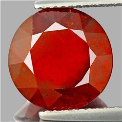Natural Orange Red Hessonite Garnet 11.50 MM