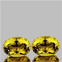 Natural AAA Golden Yellow Citrine 16x12 MM - FL