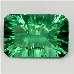 Natural AAA Green Fluorite 14.05 Ct - VVS